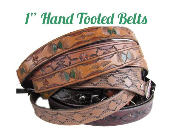 belts 1′ hand tooled 1 belts