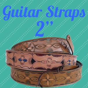 Custom Leather Guitar Straps-2