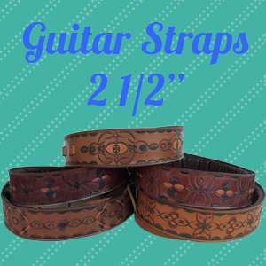 Custom Leather Guitar Straps