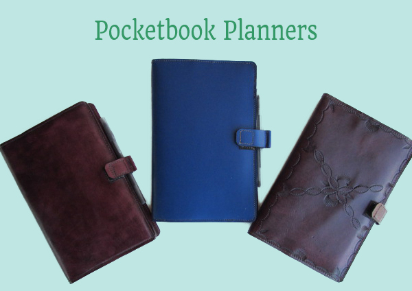 Pocket Book Planners/Organizers