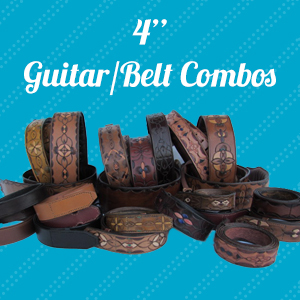 custom leather guitar strap belt