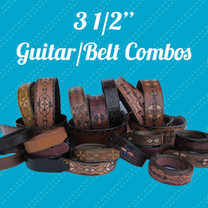 custom guitar straps leather