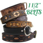 Custom hand Tooled Leather Belts