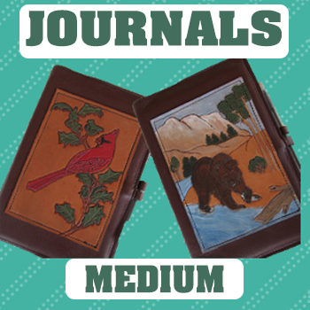 refillable leather journal covers