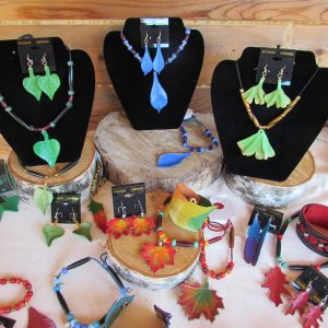 Nature's Bounty Leather Jewelry Collection