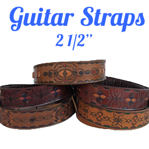 tooled-leather-guitar-strap