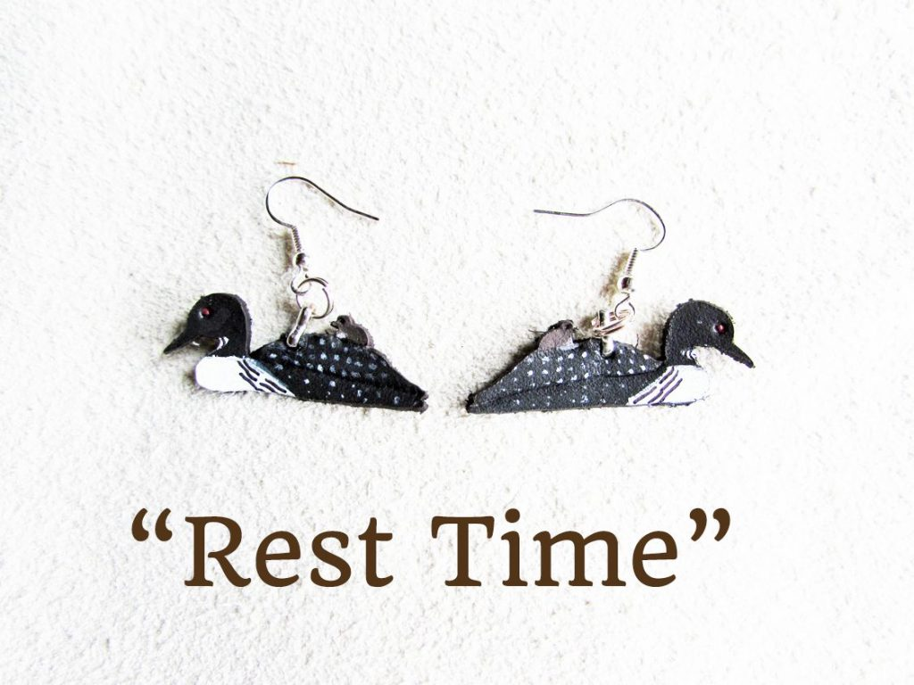 loon-earrings-rest-time