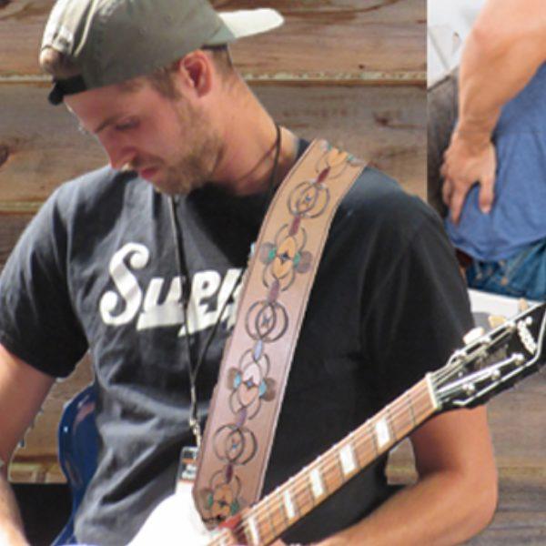 custom leather guitar straps fully padded