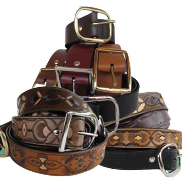 custom fit leather belts