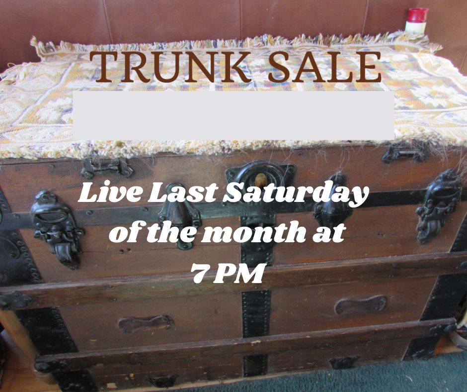 live trunk sale every month